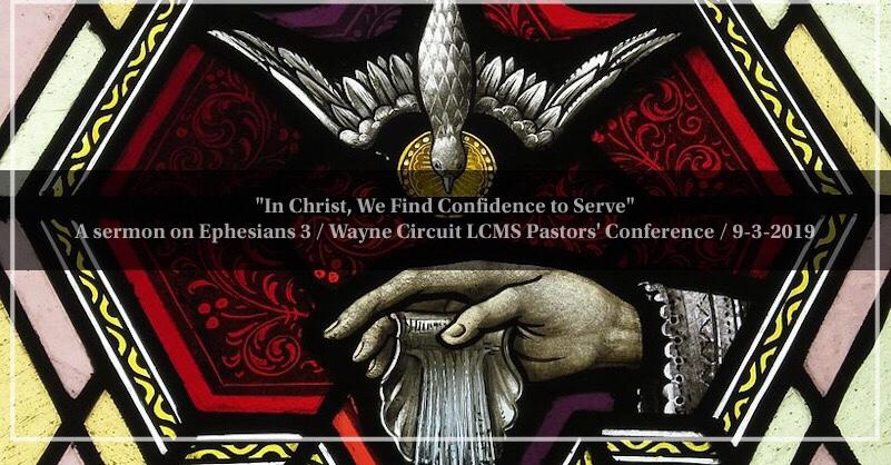 pastors conference – Isaiah 50:4 Blues